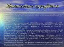 Збалансоване харчування 7) харчові волокна (клітковина, геміцелюлози, пек тин...