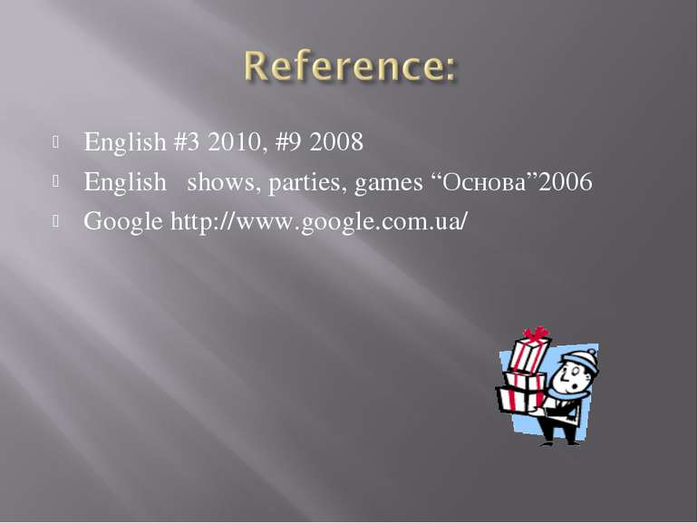 "English #3 2010, #9 2008 English shows, parties, games ""Основа""2006 Google ht..."