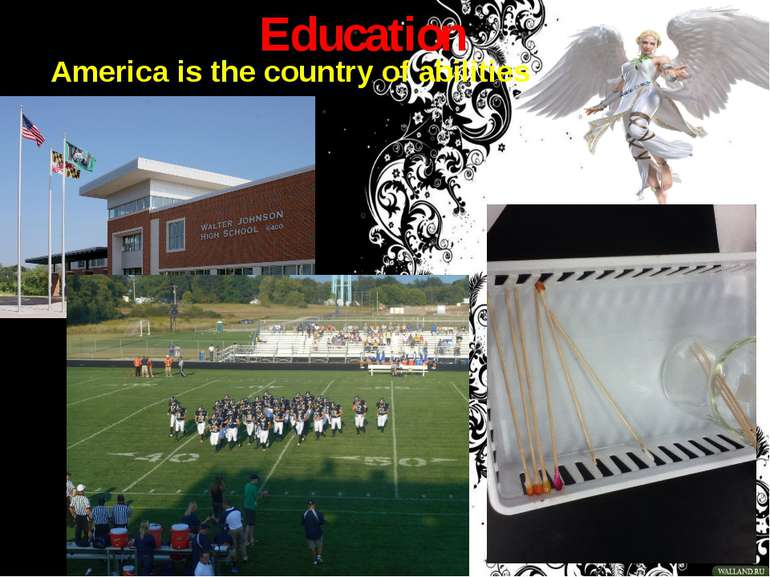 Education America is the country of abilities
