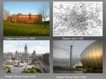 Glasgow's carpet factory (1892) Glasgow map in 1878 Glasgow-George-Square (19...