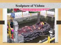 Sculpture of Vishnu