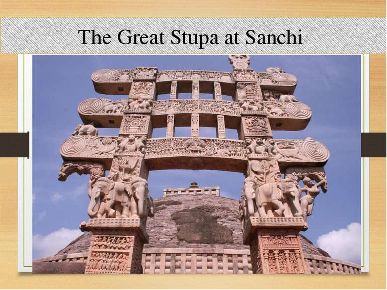 The Great Stupa at Sanchi