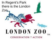 In Regent's Park there is the London Zoo