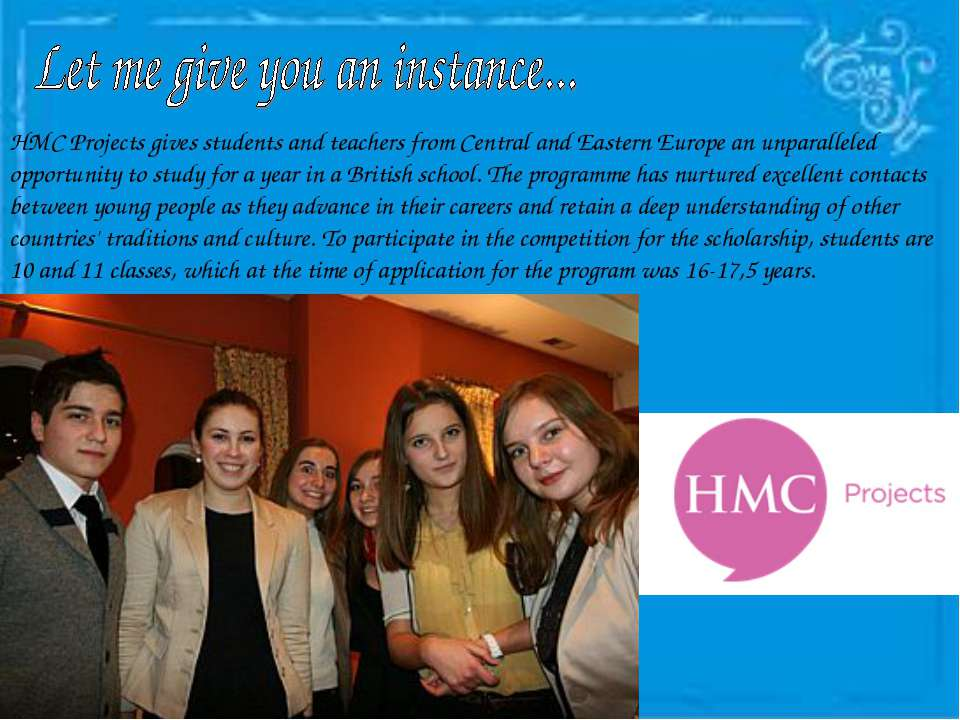 HMC Projects gives students and teachers from Central and Eastern Europe an u...