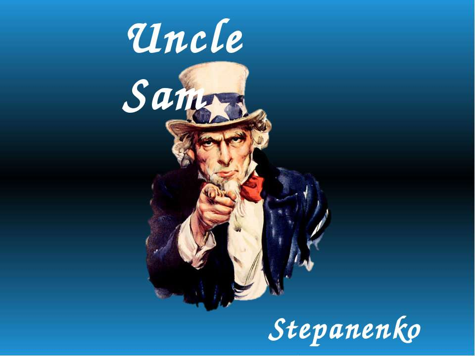 Uncle Sam Stepanenko Lina