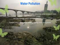 Water Pollution The main sources of water pollution are industrial enterprise...