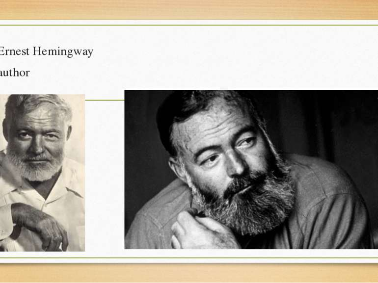 earnest hemingway biography essay The hemingway family is represented by two articles by clarence edmonds hemingway, several notes, speeches and poems by grace hall hemingway, and essays and lists by various family members, and the typescript of leicester hemingway's biography my brother ernest hemingway.