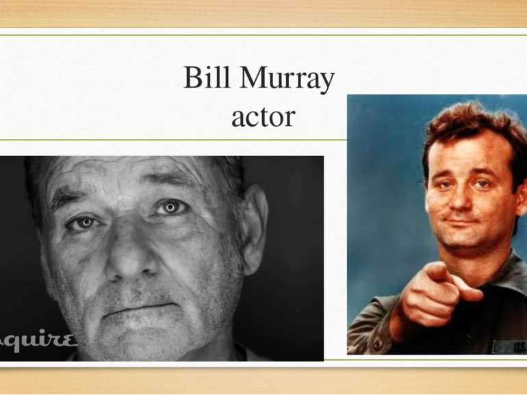 Bill Murray actor