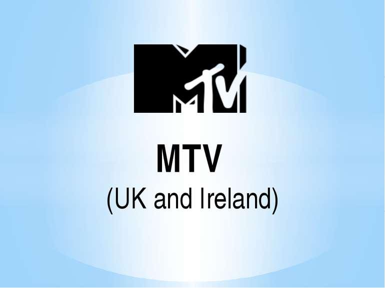 MTV (UK and Ireland)