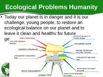Ecological Problems Humanity Today our planet is in danger and it is our chal...