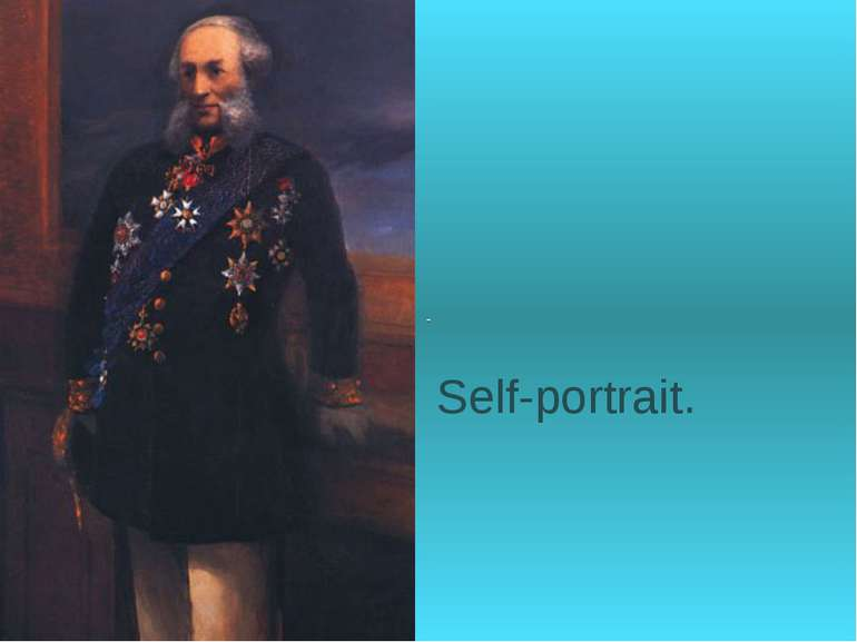 Self-portrait.