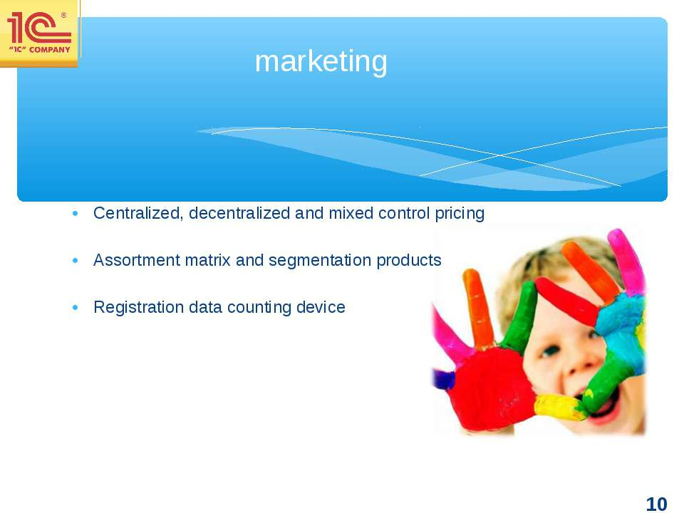 Centralized, decentralized and mixed control pricing Assortment matrix and se...