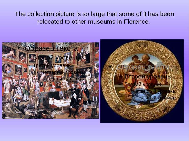 The collection picture is so large that some of it has been relocated to othe...