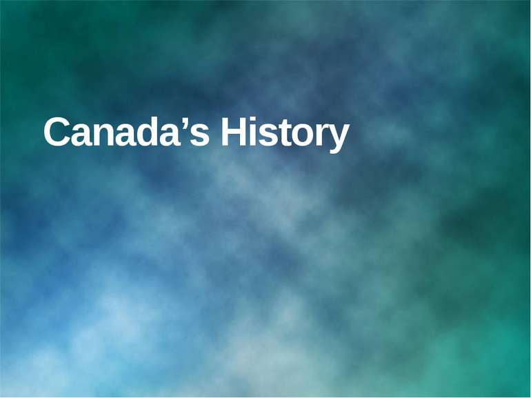 Canada's History © Корпорация Майкрософт (Microsoft Corporation), 2007. Все п...
