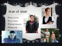 Man of steel Henry Cavill  Amy Adams Michael Shannon Diane Lane Kevin Costner...