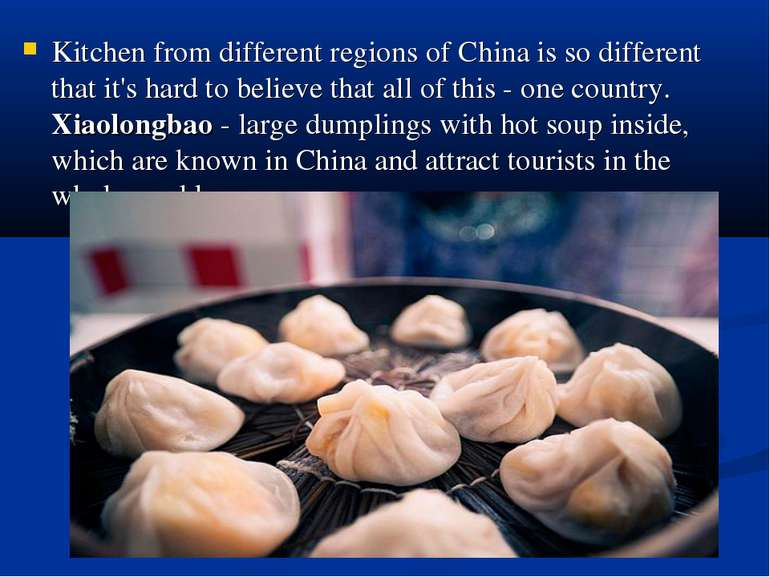 Kitchen from different regions of China is so different that it's hard to bel...