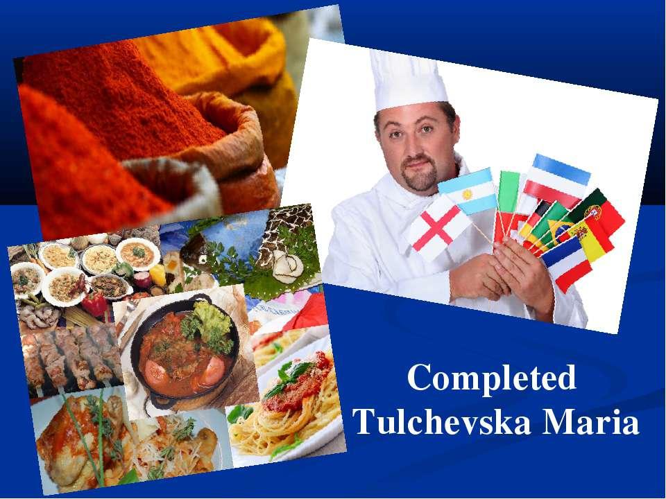 Completed Tulchevska Maria