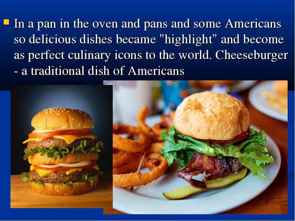 "In a pan in the oven and pans and some Americans so delicious dishes became ""..."