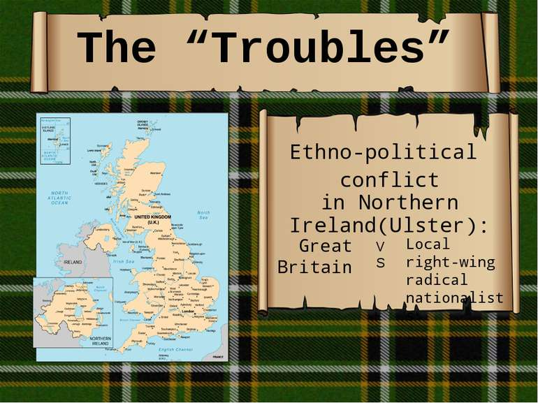"""The """"Troubles"""" Ethno-political conflict inNorthern Ireland(Ulster): Great B..."""