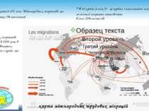 карта міжнародних трудових міграцій · У світі налічується 191 млн. Міжнародни...