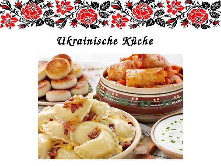 Ukrainische Küche