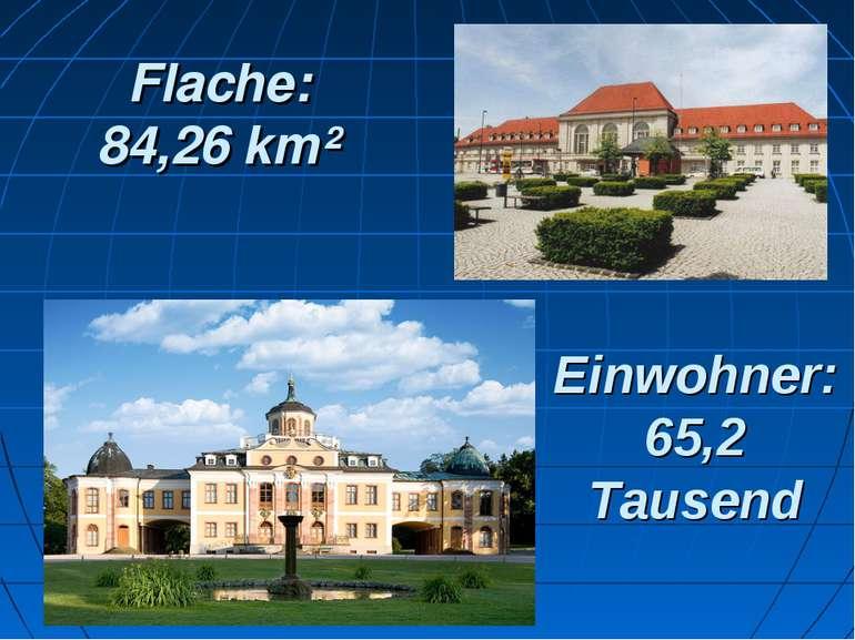 Einwohner: 65,2 Tausend Flache: 84,26 km²