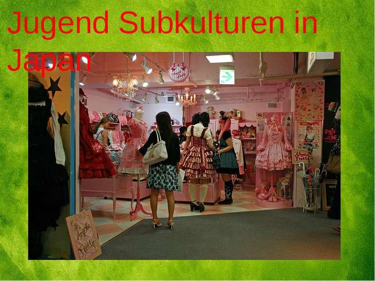Jugend Subkulturen in Japan