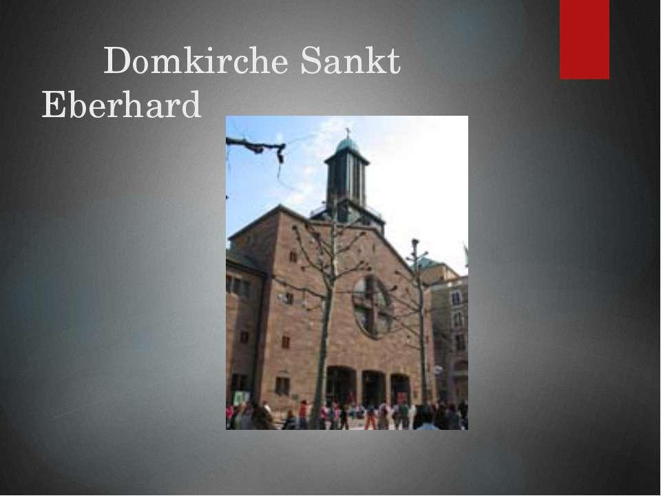 Domkirche Sankt Eberhard