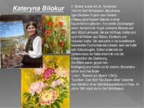 K. Bilokur wurde am 24. November 1900 im Dorf Bohdaniwzi, des ehema ligen Bez...