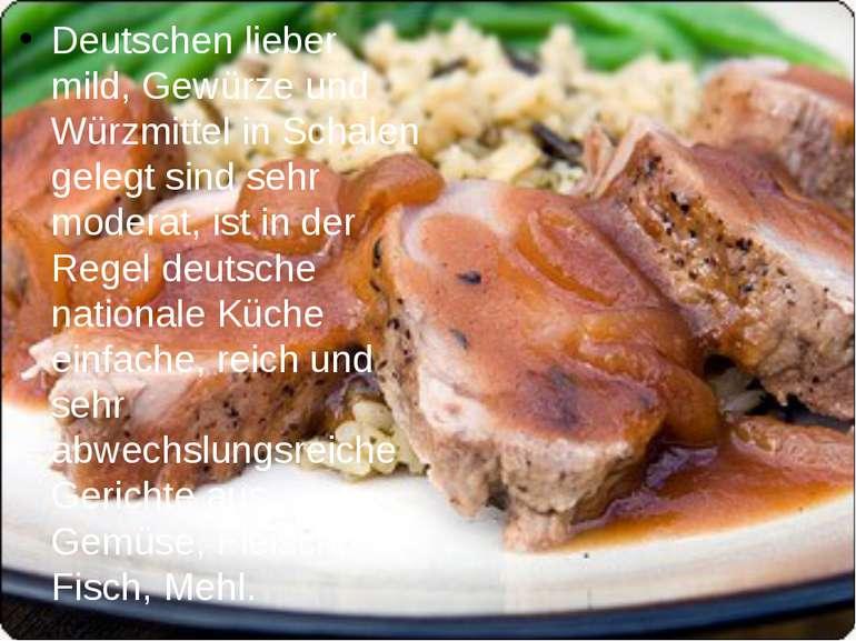 Deutschen lieber mild, Gewürze und Würzmittel in Schalen gelegt sind sehr mod...