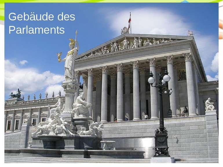 Gebäude des Parlaments PowerPoint Template