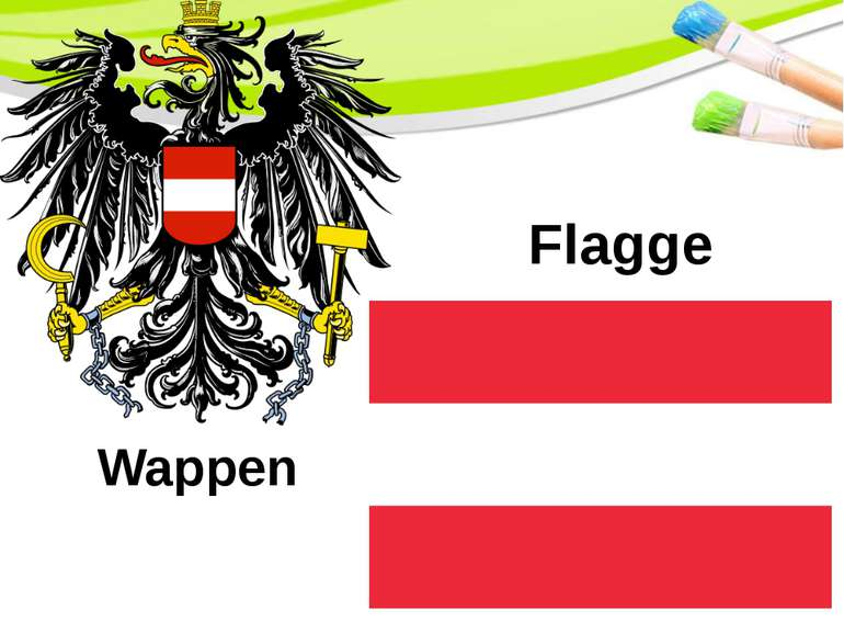 Flagge Wappen PowerPoint Template