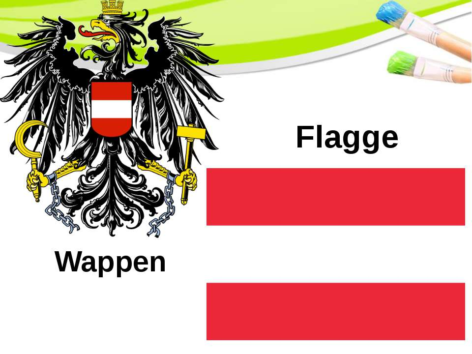 Flagge Wappen PowerPoint Template