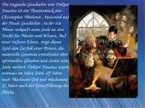 Die tragische Geschichte von Doktor Faustus ist ein Theaterstück von Christop...