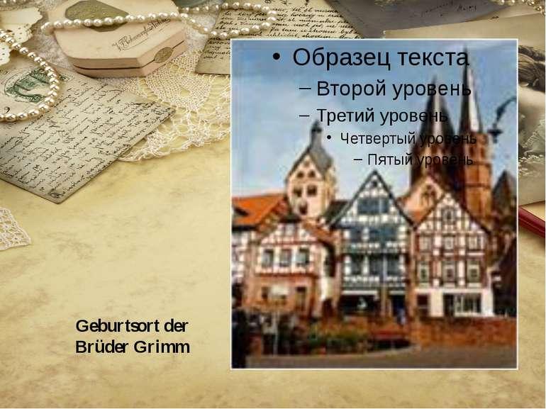Geburtsort der Brüder Grimm