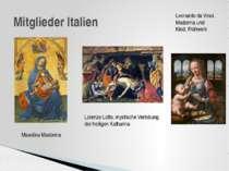 Mitglieder Italien Masolino Madonna Lorenzo Lotto, mystische Verlobung der he...