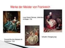 Werke der Meister von Frankreich François Boucher, Madame de Pompadour, 1758 ...