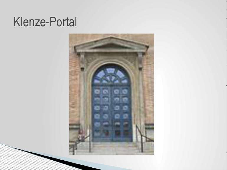 Klenze-Portal