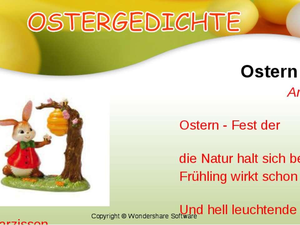 Ostern Anita Menger Ostern - Fest der Auferstehung, die Natur halt sich berei...