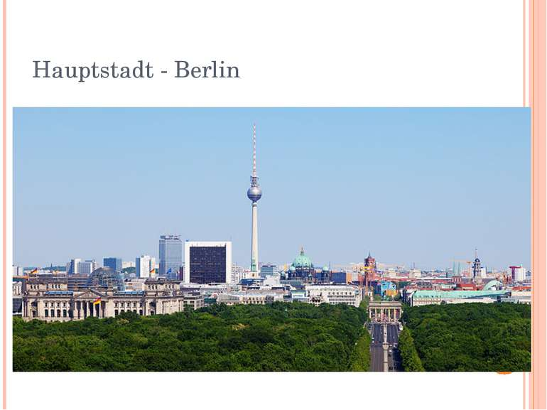 Hauptstadt - Berlin