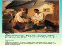 Bäuerliche Familie  1843 Der Künstler während der ersten Reise in die Ukrain...