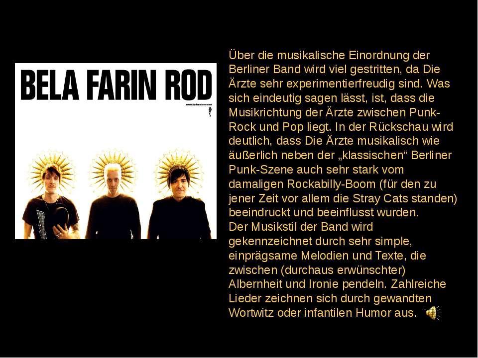 Über die musikalische Einordnung der Berliner Band wird viel gestritten, da D...