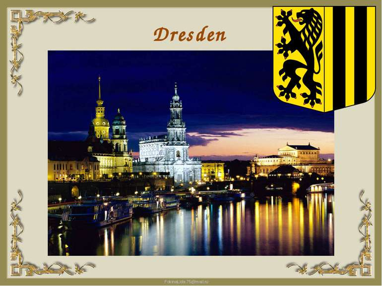 Dresden FokinaLida.75@mail.ru