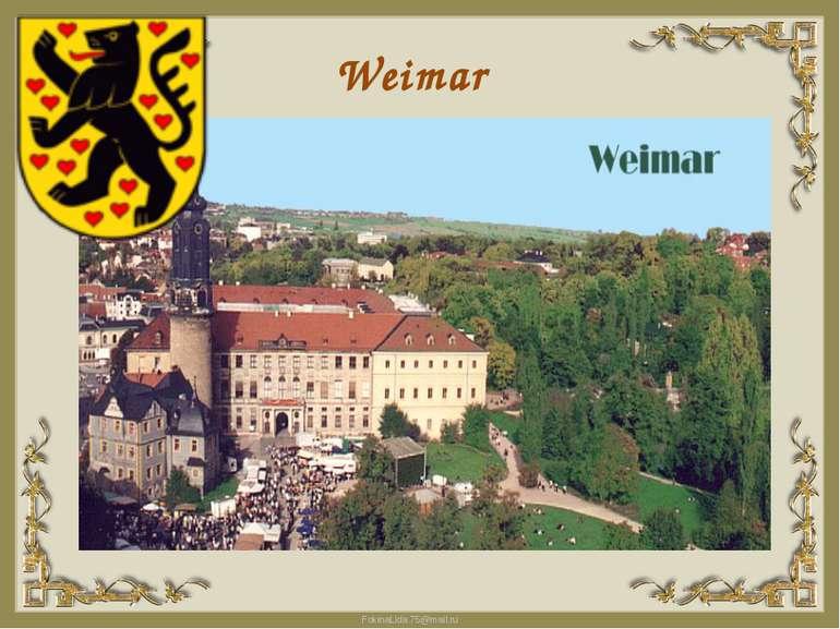 Weimar FokinaLida.75@mail.ru