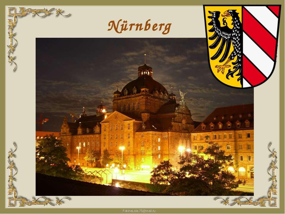 Nürnberg FokinaLida.75@mail.ru