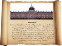 Allgemeines Der Bau des Neuen Palais fällt nicht zufällig in das Jahr nach de...