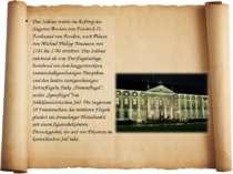 Das Schloss wurde im Auftrag des jüngsten Bruders von Friedrich II., Ferdinan...