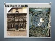 Die Boim-Kapelle