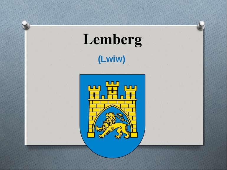 Lemberg (Lwiw)
