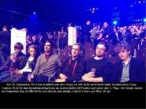 Am 29. September 2011 trat Kraftklub mit dem SongIch will nicht nach Berlin...
